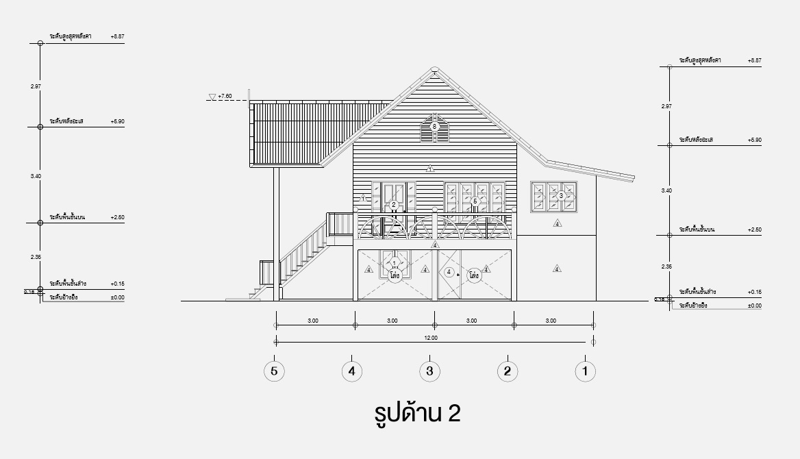2 storey thai wooden country house (5)