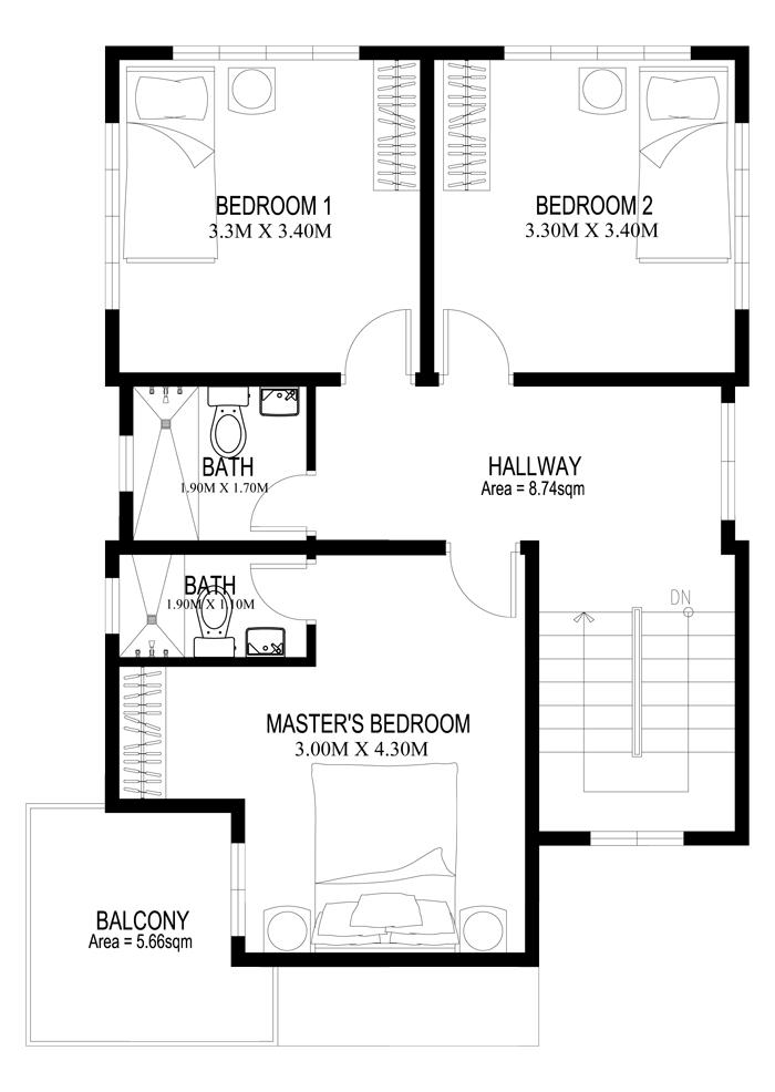 2-storey-white-modern-house 3