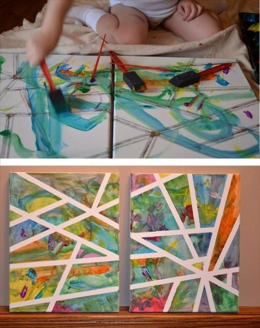 27-cheapest-easiest-to-make-astonishing-diywall-art (12)