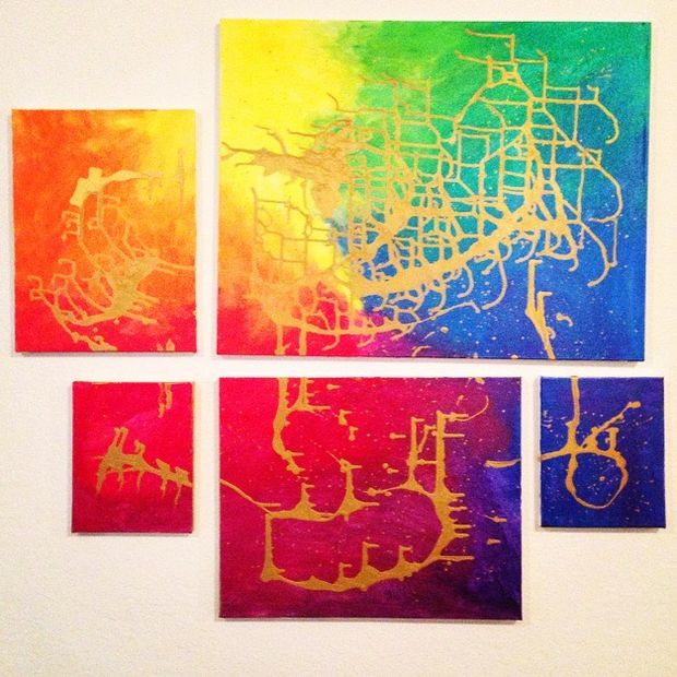27-cheapest-easiest-to-make-astonishing-diywall-art (7)