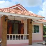 Review : สร้างบ้านหลังน้อย 3 ห้องนอน 3 ห้องนอน ด้วยงบ 750,000 บาท