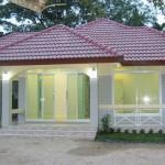 สร้างบ้านชั้นเดียวด้วยวัสดุเกรดพรีเมี่ยม งบ 900,000 บาท คุ้มหรือไม่ต้องลองชม