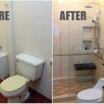 Review : รีโนเวทห้องน้ำเก่า ทุบทิ้งทำใหม่ เปลี่ยนไปจนแทบจำไม่ได้!!