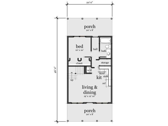 Contemporary House 1 bedroom 1 bathroom (1)
