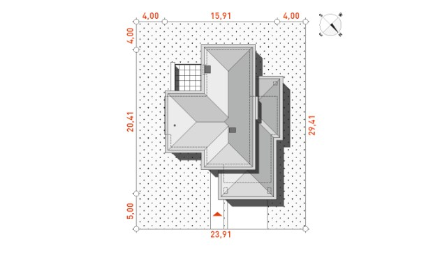 Large Contemporary housr with dignity shapes (1)