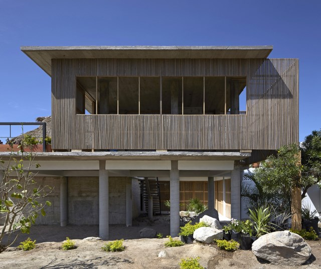 Modern cement houses relaxation resort style (17)