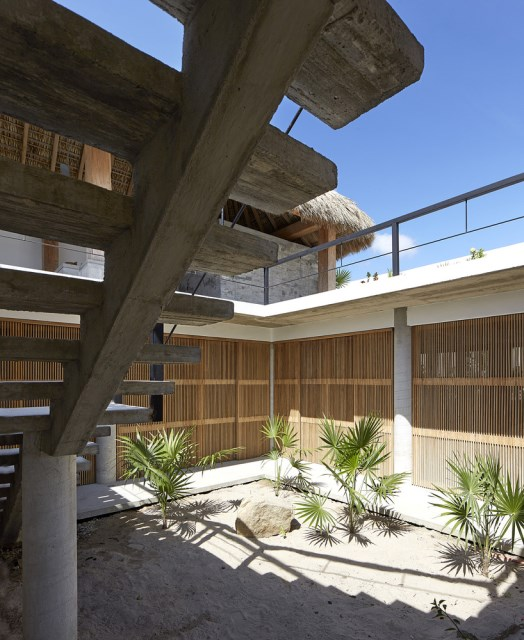 Modern cement houses relaxation resort style (4)