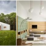 บ้านกระท่อมสมัยใหม่ ตกแต่งแบบมินิมอล รองรับชีวิตที่เรียบง่าย ท่ามกลางสวนป่า