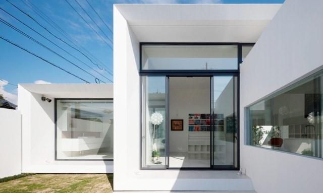 Modern house white tone (1)