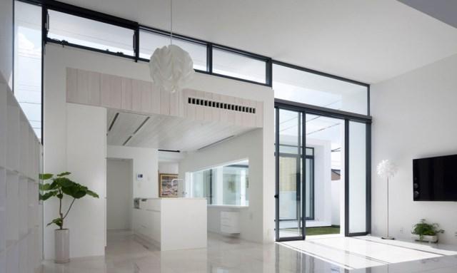Modern house white tone (8)