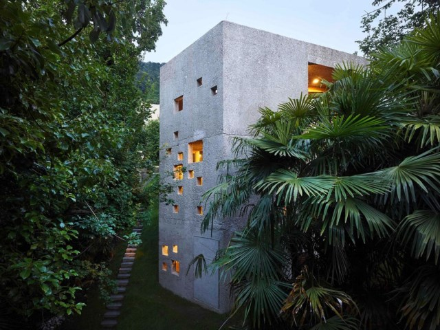 Modern houses of concrete (7)