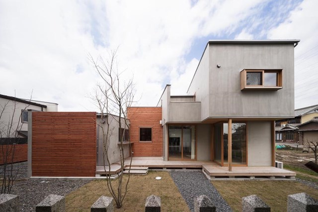 Modern minimal House Shades of gray (11)