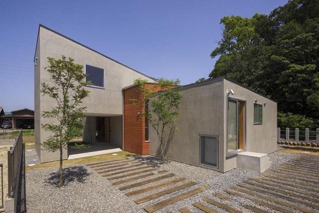 Modern minimal House Shades of gray (12)