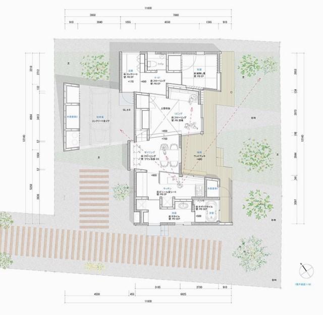 Modern minimal House Shades of gray (6)