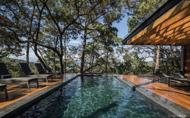 Modern villa of modern materials on the Hill With swimmimg pool (2)
