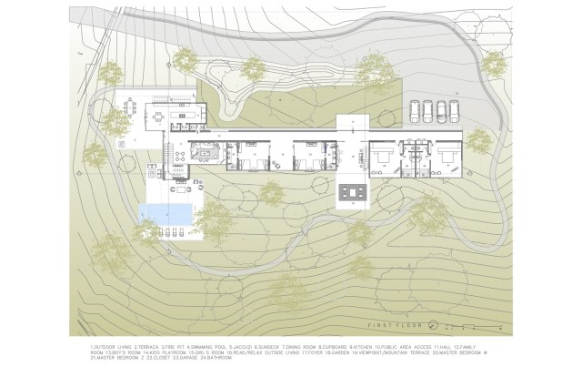 Modern villa of modern materials on the Hill With swimmimg pool (4)