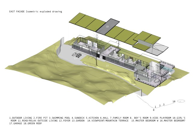 Modern villa of modern materials on the Hill With swimmimg pool (5)