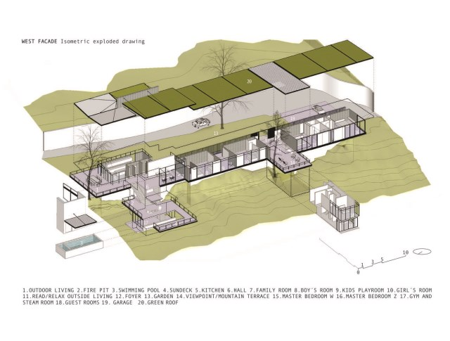 Modern villa of modern materials on the Hill With swimmimg pool (6)