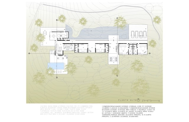 Modern villa of modern materials on the Hill With swimmimg pool (7)