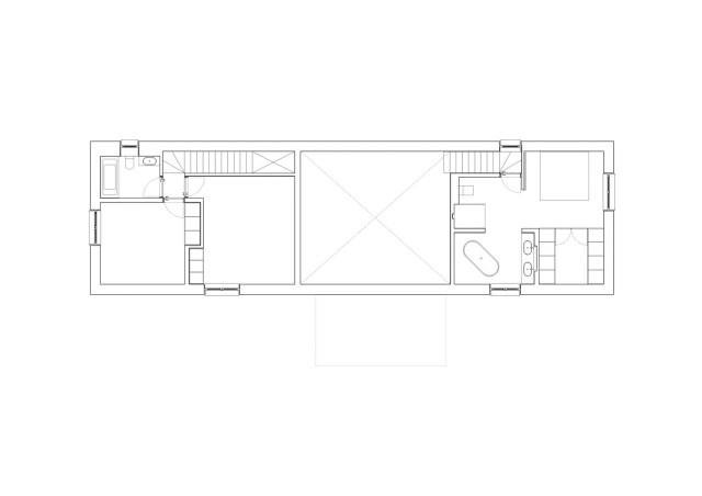 Two-storey house minimalist style (10)
