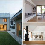 บ้านสองชั้นสไตล์มินิมอล พร้อมสนามหญ้าและลานคอนกรีต รองรับการใช้ชีวิตที่เรียบง่าย