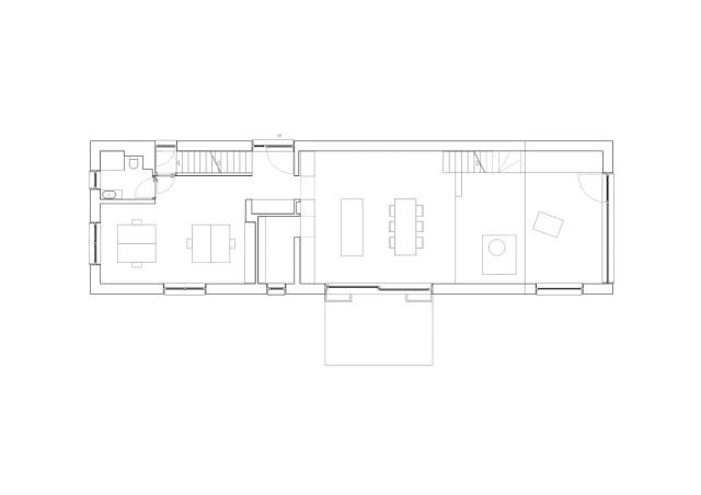 Two-storey house minimalist style (9)