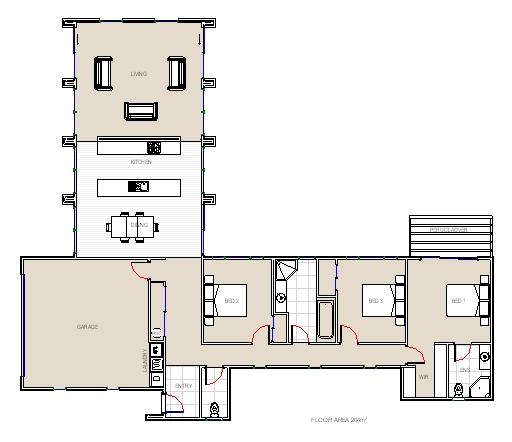 Villa concrete house on the hill (1)