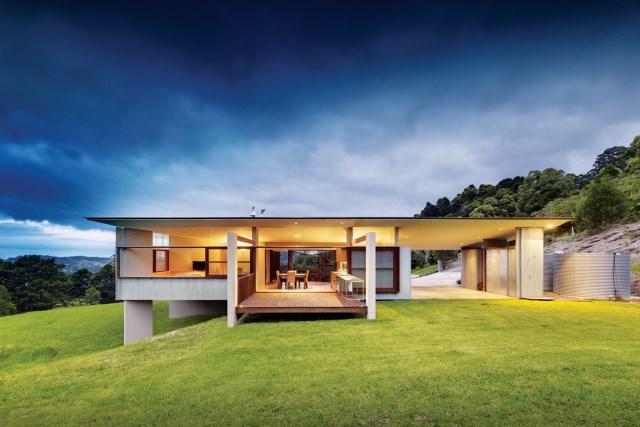 Villa concrete house on the hill (2)