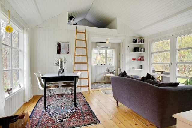 black-white cottage House 1 bedroom (8)