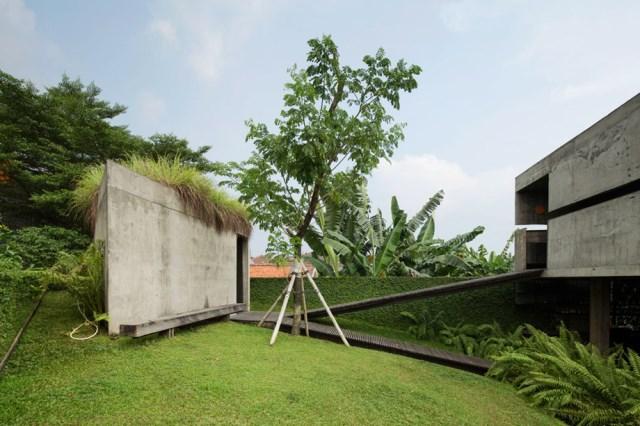 cement house Modern villa style (2)