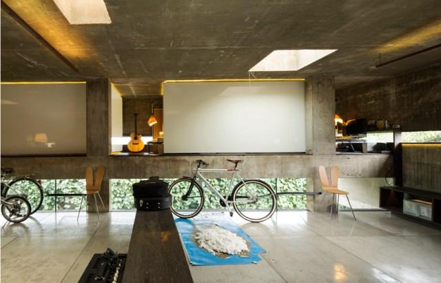 cement house Modern villa style (5)