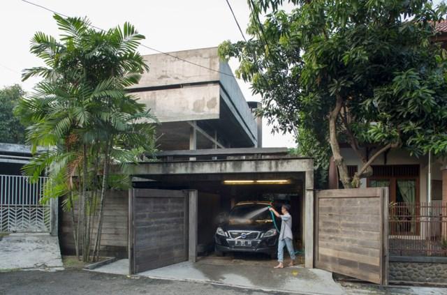 cement house Modern villa style (8)