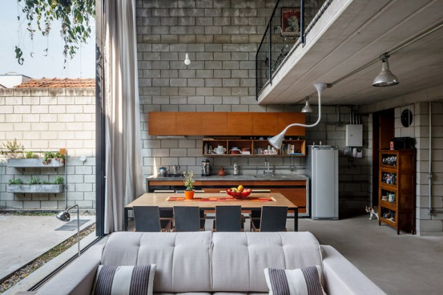 concrete Home two-story lofts structural (1)