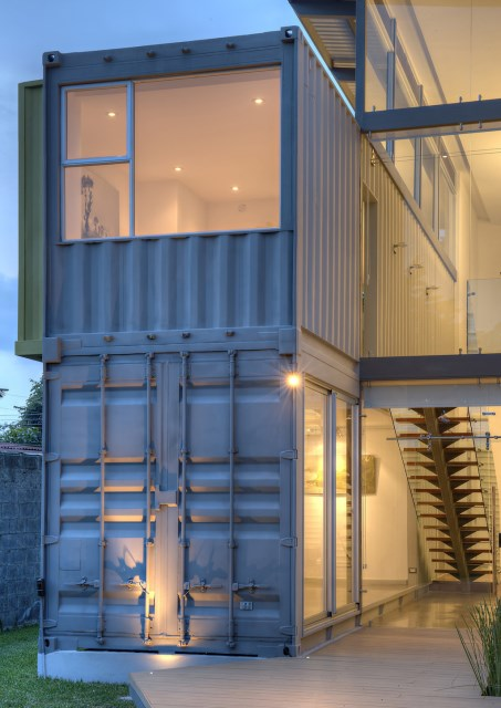 container Modern Home Modern materials and shapes (7)