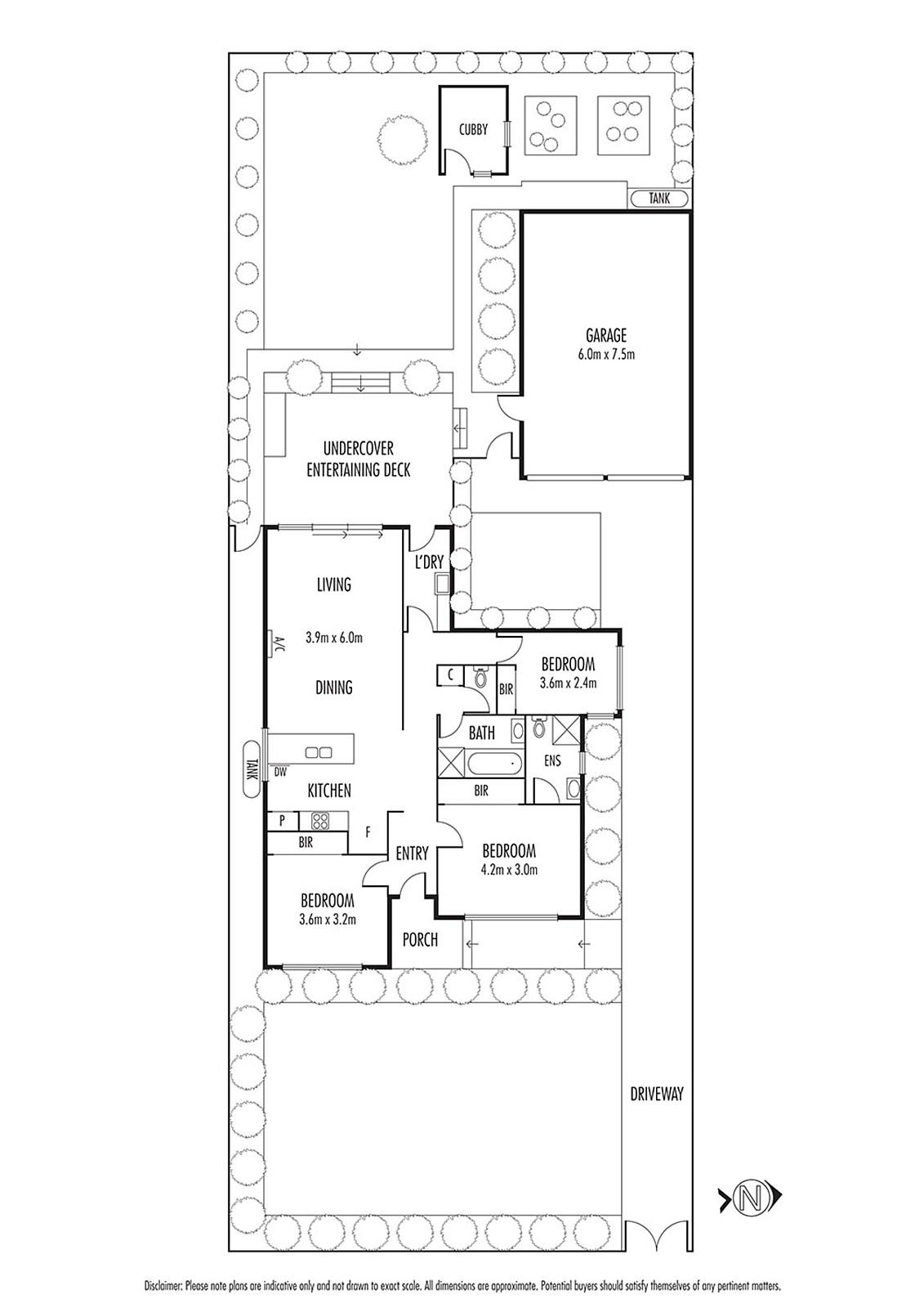contemporary narrow facade 3 bedroom house (17)