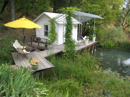 cottage House With veranda Riverside (3)