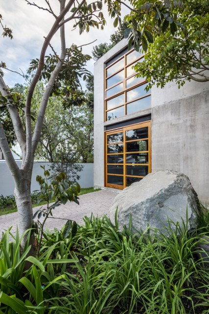 cube cement house modern style (2)