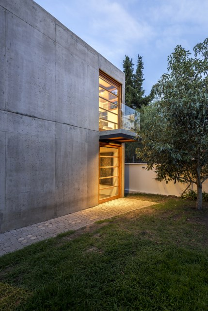 cube cement house modern style (5)