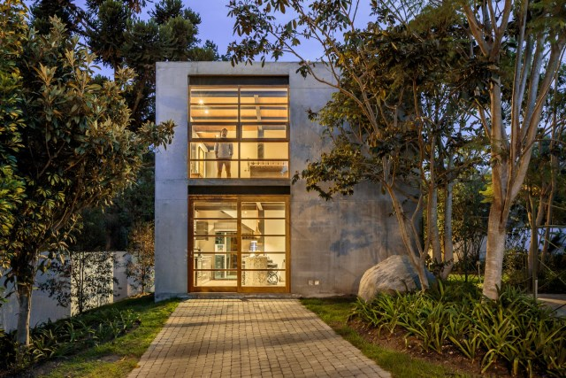 cube cement house modern style (8)