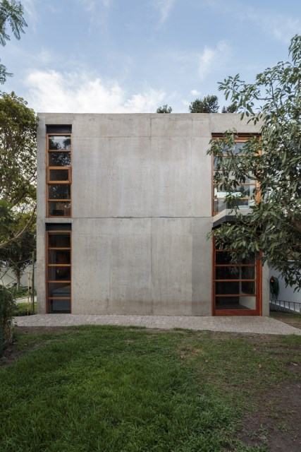 cube cement house modern style (9)
