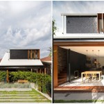 บ้านโมเดิร์นร่วมสมัย ออกแบบด้วยไม้และคอนกรีต มาพร้อมการตกแต่งด้วยพรรณไม้ร่มรื่น