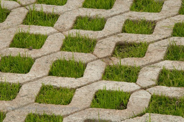 grass paver for courtyard (12)
