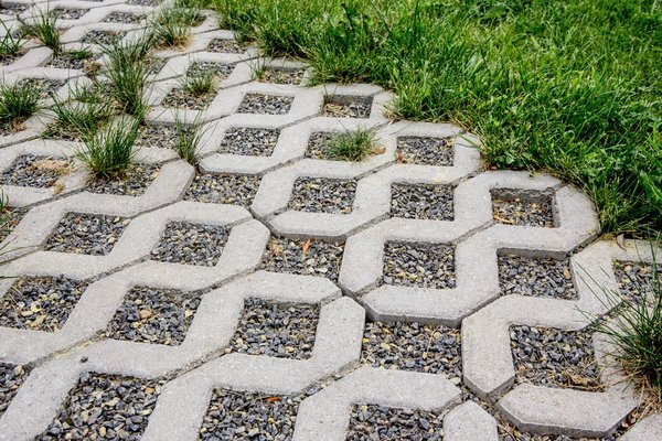 grass paver for courtyard (14)