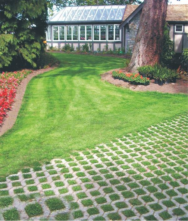grass paver for courtyard (15)