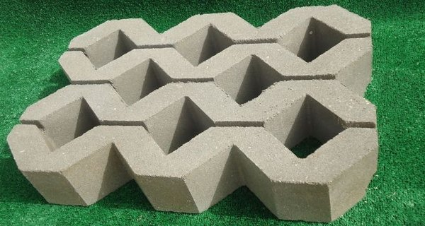 grass paver for courtyard (5)