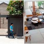 บ้านขนาดเล็กกะทัดรัด ตกแต่งด้วยปูนเปลือย งานภายในแบบมินิมอล