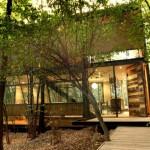 บ้านสวนแบบบ้านตากอากาศ สไตล์โมเดิร์นเคบิน ตกแต่างสวยท่ามกลางสวนป่า