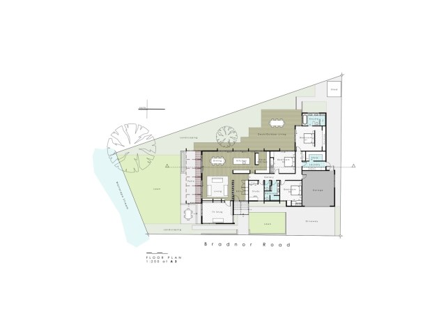 modern house with tropical gardens (6)