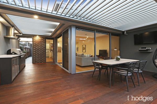 narrow facade spacious decorated modern house (6)