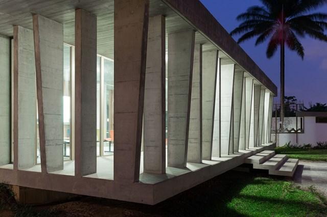 office Modern loft style Materials of cement (10)